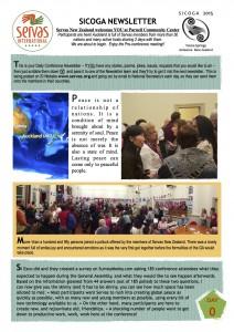 SICOGA2015 - Newsletter Day0