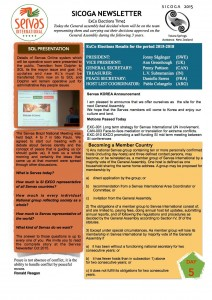 SICOGA2015 - Newsletter Day5